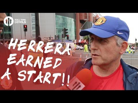 Ander Herrera Earned A Start! | Manchester United 1-2 Manchester City | FANCAM