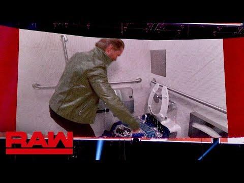 Drake Maverick ruins Bobby Roode's robe in disgusting distraction: Raw, Nov. 26, 2018