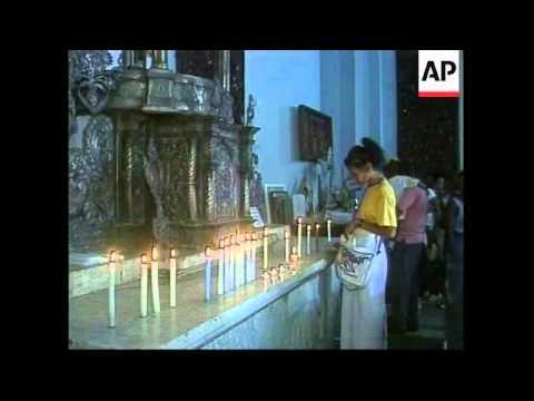 CUBA: PILGRIMAGE TO COBRE