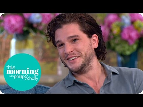Kit Harington On Keeping Game Of Thrones Secrets   This Morning