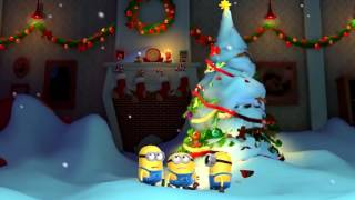 new minions happy new year 2017 новые миньоны новогодняя ёлка с новым годом 2017