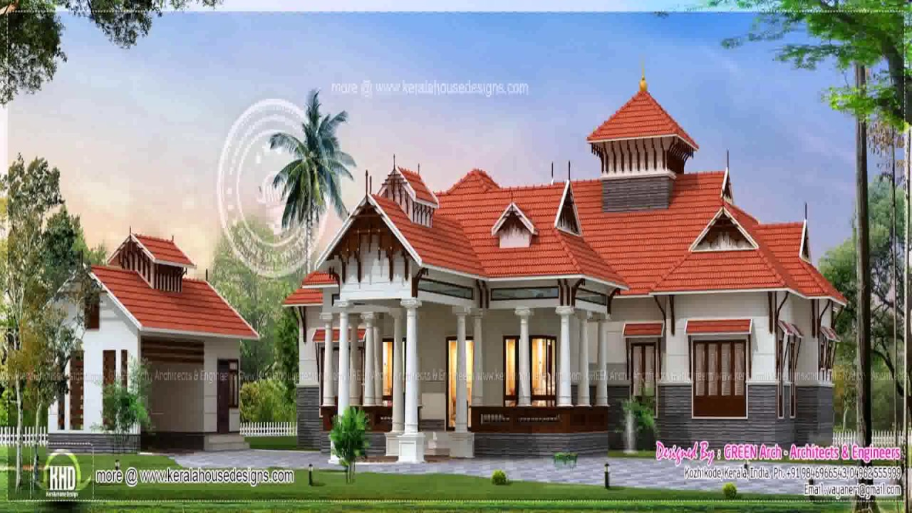 Colonial Style House In Kerala