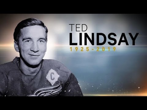 The Insider - Former Red Wing Ted Lindsay dead at 93