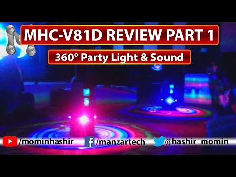 Sony Music System MHCV81D Review Part 1 of 5