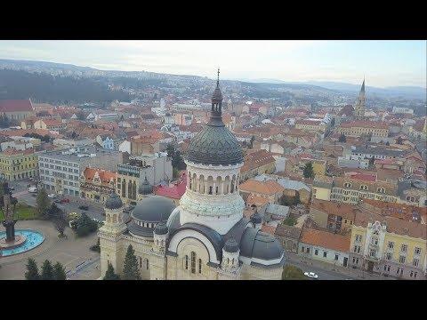 Cluj-Napoca Aerial 4k