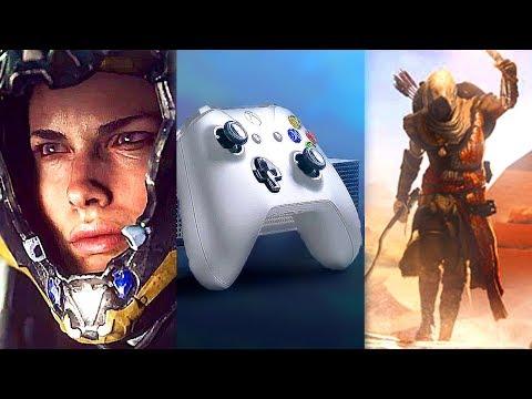 E3 2017 : Les MEILLEURS JEUX de la Conférence Microsoft (Xbox One X)
