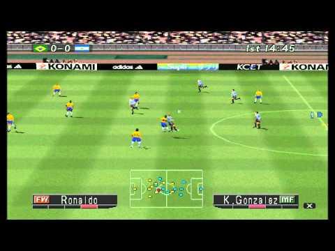 Memória Gamer #1 Winning Eleven 2002 PS1