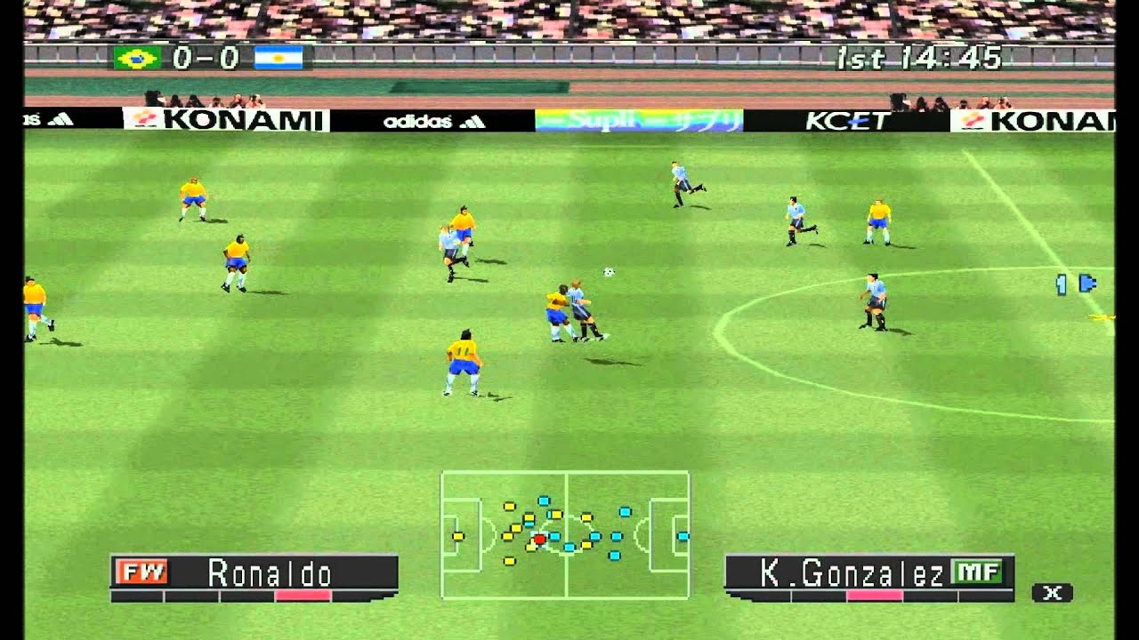 Memória Gamer #1 Winning Eleven 2002 PS1 - YouTube