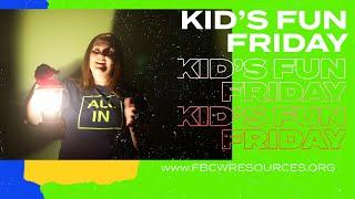 Kid's Fun Friday | A Lightbulb, A Flashlight And A Lantern | Kid's Minister Kerry Dillman