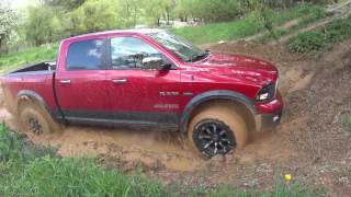 Land Rover Defender 130 vs Ram 1500 vs Ckerokee XJ vs Wrangler YJ in mud