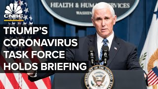 Watch Live: White House Coronavirus Task Force Holds Briefing At Department Of Education — 7/8/2020