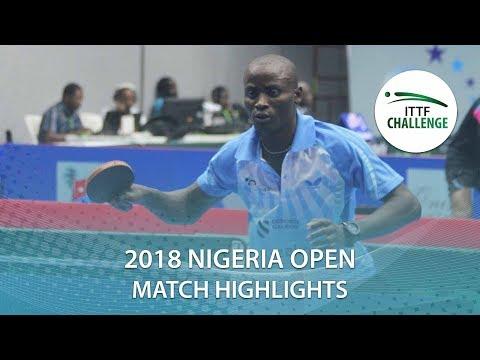 Lawal Abiodun vs Etim Orok | 2018 Nigeria Open Highlights (Group)