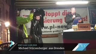 Michael Stürzenberger - Rede bei PEGIDA Dresden