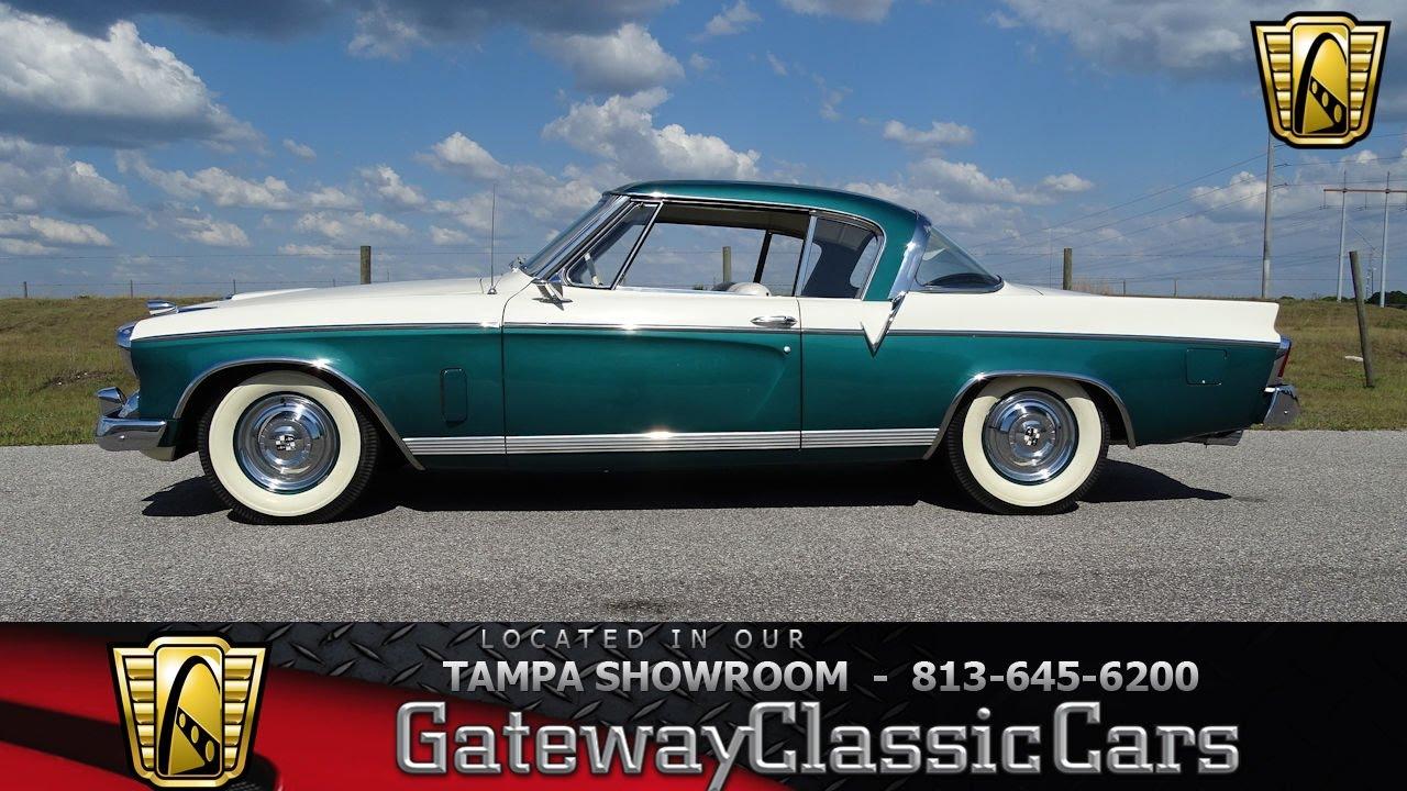 933 Tpa 1956 Studebaker Golden Hawk 352 Cid V8 Packard 4 Speed Automatic Youtube