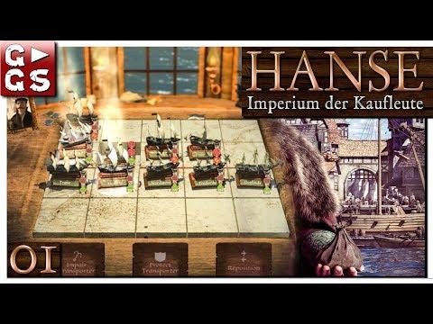 HANSE Imperium der Kaufleute 🚢 PREVIEW Lets Play deutsch