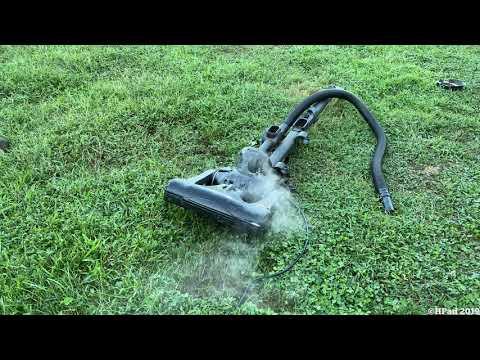Eureka Airspeed Vacuum Destruction