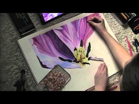Prismacolor Speed Drawing Youtube