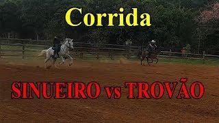 Corrida SINUEIRO vs TROVÃO - Quem será que ganha????