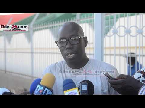 Augustin Senghor visite le Stade Lat-Dior