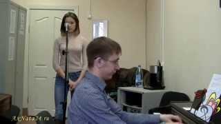 """Урок вокала.Джаз-стандарт 8-я часть.В поисках """"вкусной"""" ноты для импровизации"""