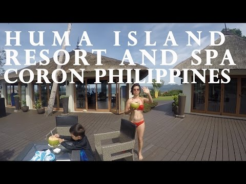 Huma Island Resort and Spa located in Coron, Palawan, Philippines