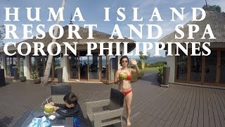 huma island resort and spa located in coron palawan philippines