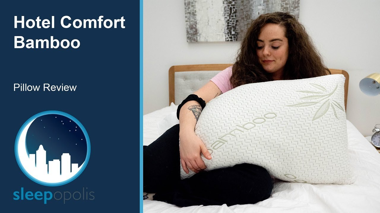 hotel comfort bamboo covered memory foam pillow review