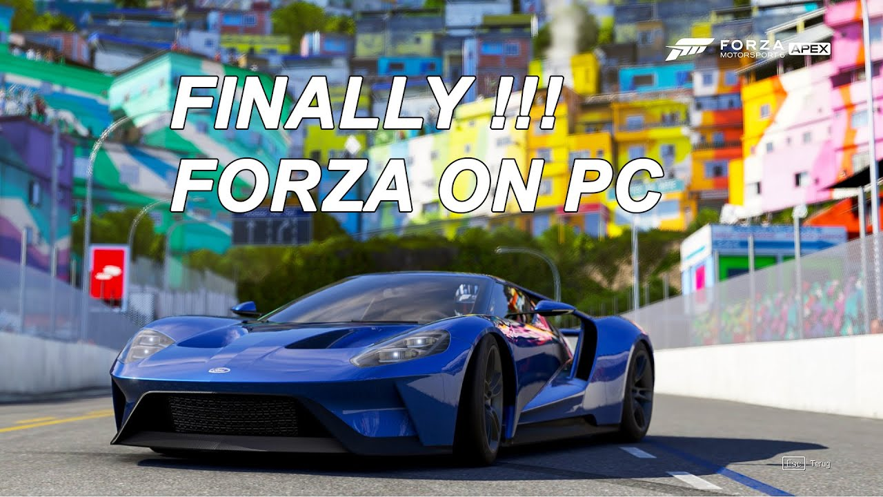Forza Motorsport 6 Apex Review: Forza Motorsport 6 Apex First Impressions 4K 60fps