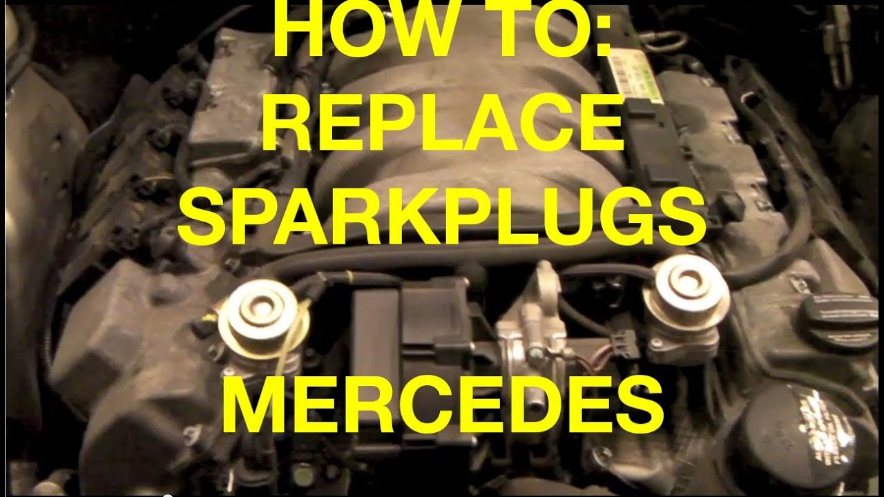 How to replace spark plugs and wires on a 1999 - 2005 Mercedes S500 ...