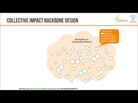 Collective impact webinar series| The Backbone
