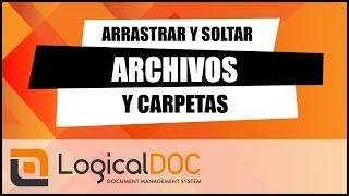 Arrastrar y soltar archivos y carpetas en el sistema de gestión de documentos (Drop Spot)