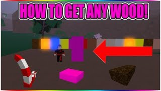 HOW TO GET ANY WOOD FOR FREE (PINK WOOD!) LUMBER TYCOON 2 ROBLOX
