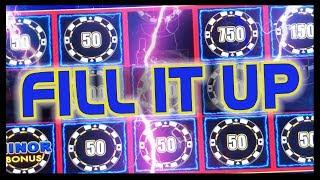 🏁My Biggest Progressive on LL ⚡ FILL IT UP!! ✦ Slot Machine Pokies w Brian Christopher