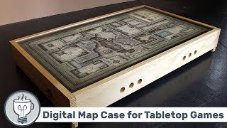 Digital Map Case for Table Top Games