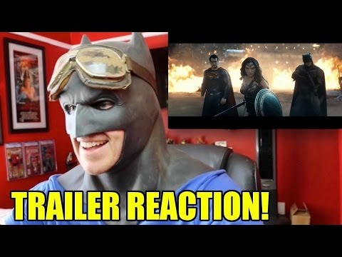 Batman v Superman: Dawn of Justice- Trailer Reaction & Review