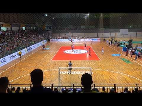 Liga Nacional: Blumenau Futsal 2x0 Cascavel