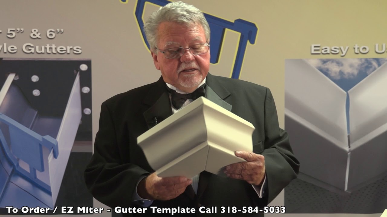 How To Cut Miters Amp Gutters Youtube