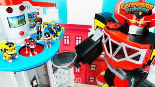 Paw Patrol Rescue Mission: Romeo's Giant Megazord & the My Size Lookout Tower! thumbnail