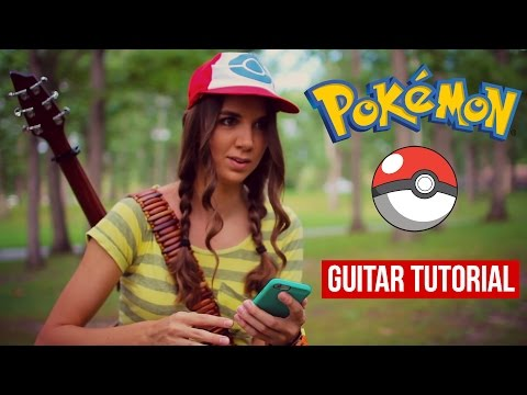 Pokemon Theme Song // Guitar Tutorial