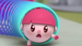 Малышарики - Раскраска для детей - На площадке 16 серия