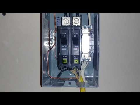 how to wire a sub panel 30 amp youtube 120v sub panel wiring electrical panels 101 a homeowner& 39;s