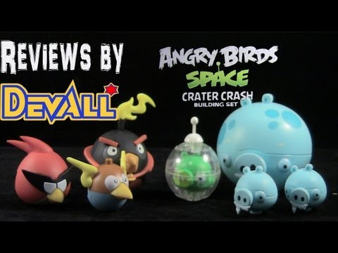 K'NEX Angry Birds Space: Crater Crash REVIEW