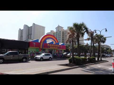 NORTH MYRTLE BEACH Drive Down Main Street | POV