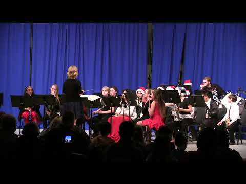 Elma Middle School Cadet Band Concert Holiday 2017