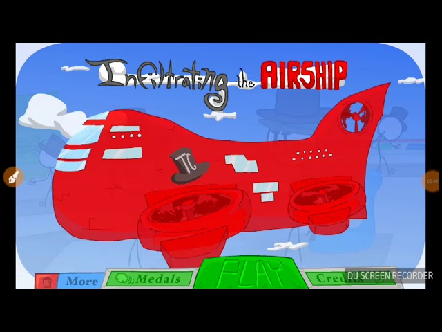 stickman/Infiltrating the airship