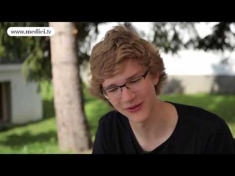 Jan Lisiecki - Verbier Festival 2013 - Wallcast Interview