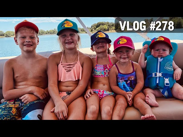 VLOG #278 / 1st Trip with the NEW BOAT! / July 30, 2020