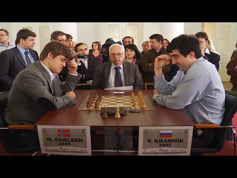 Magnus Carlsen Vs Vladimir Kramnik   Blitz Chess Tal Memorial 2012