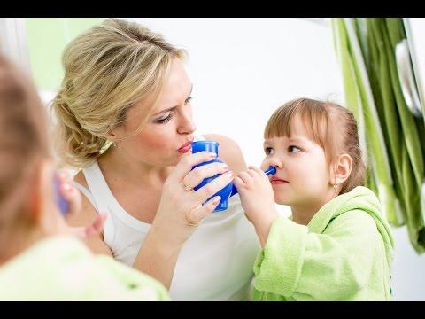 Народные средства от насморка для детей: капли в нос