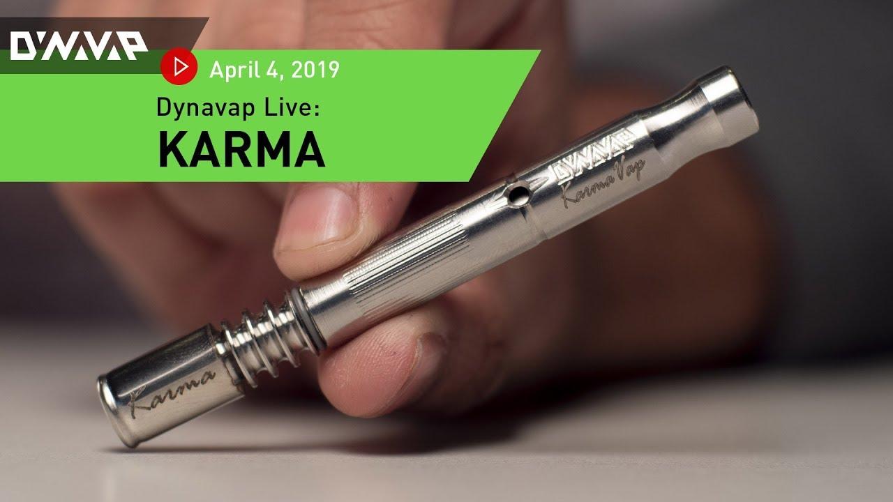DynaVap Live   April 4, 2019   Karma - YouTube